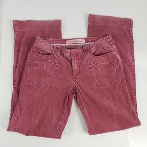 Daughters of the Liberation Corduroy Pants Red